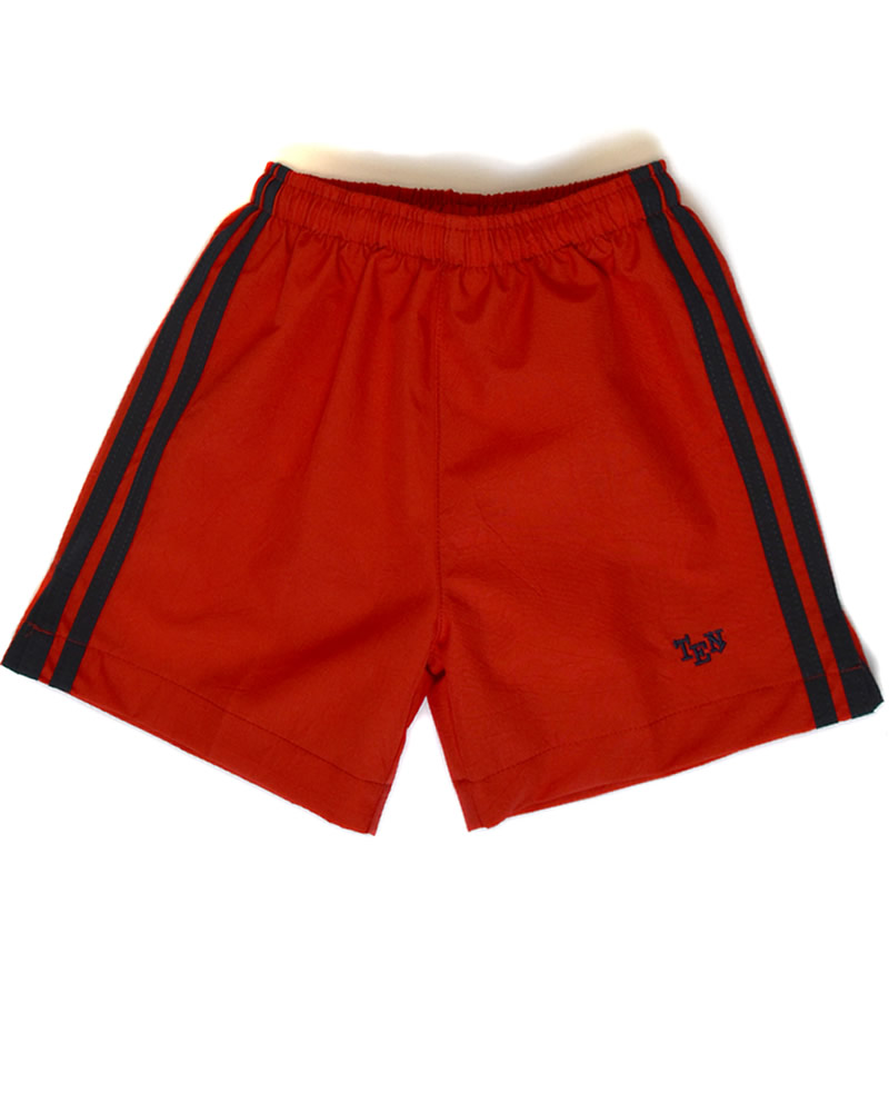 Uniforme The English School Pantaloneta Roja