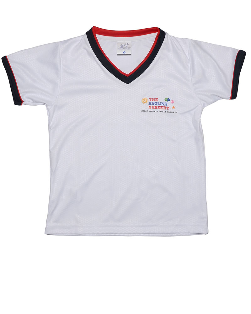 Uniforme The English School T-Shirt Pre/Nursury