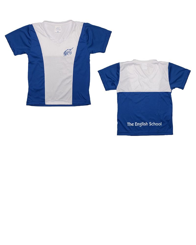 Uniforme The English School T-Shirt Unicorn Niño Azul