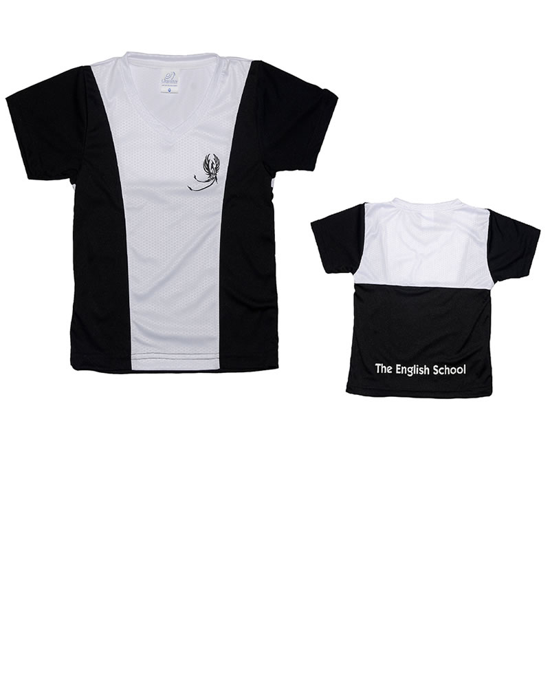 Uniforme The English School T-Shirt Phoenix Niño Negra