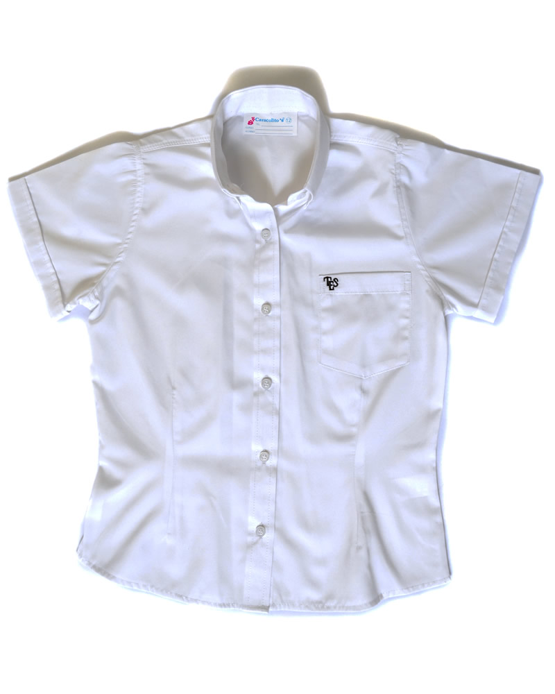 Uniforme The English School Camisa Oxford Manga Corta Niño