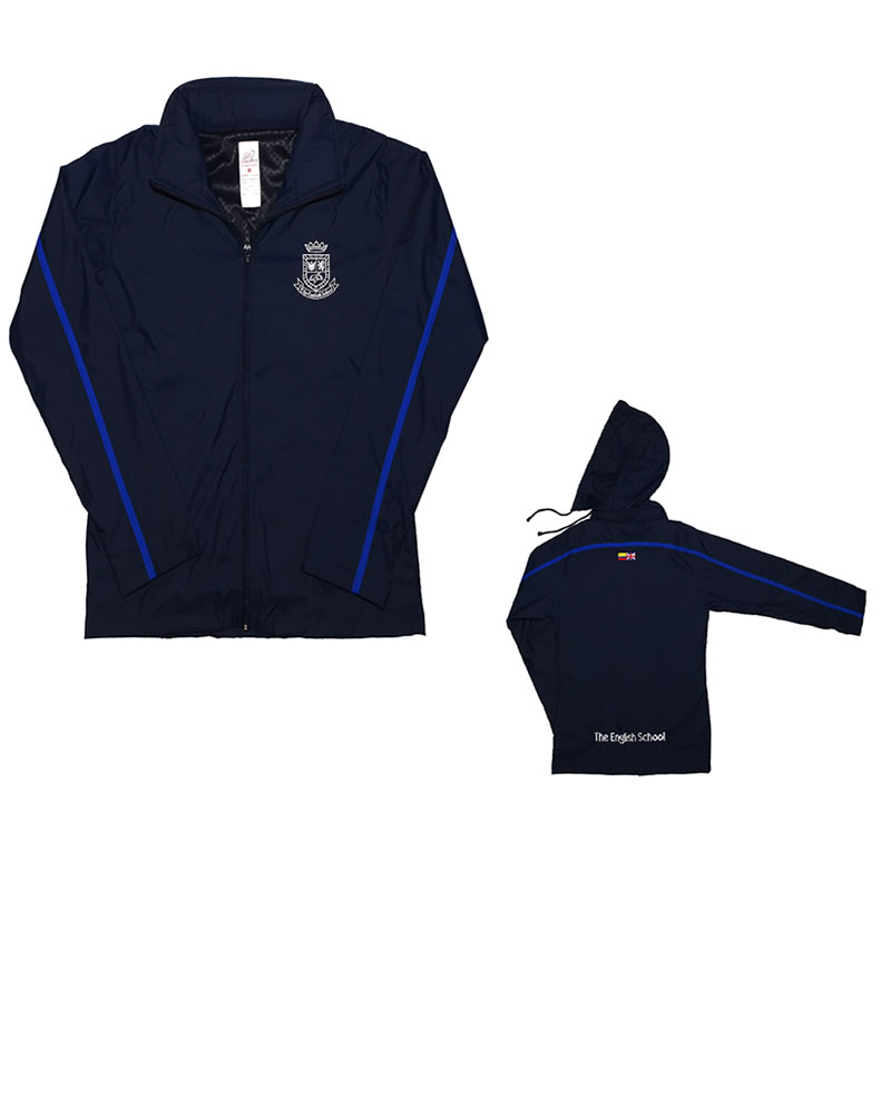 Uniforme The English School Buso Sudadera Azul