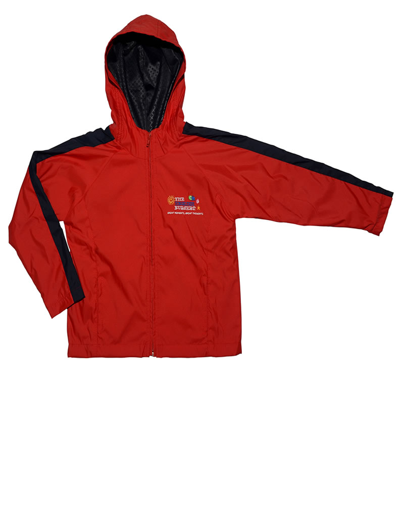 Uniforme The English School Buso Sudadera Rojo